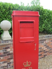 Buy Original Red ER II Square Pillar Boxes at UKAA