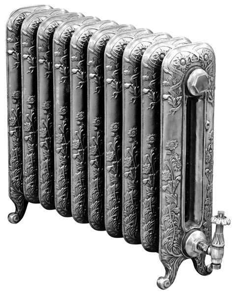 Carron Daisy 595mm Tall Cast Iron Radiator 10 Sections Long