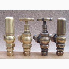 Carron Daisy Style Manual Radiator Valves