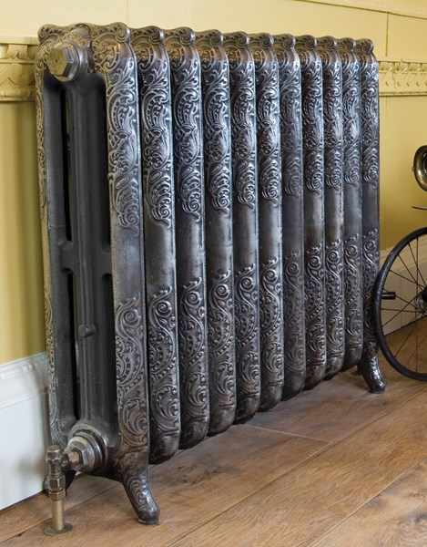 Carron Rococo 810mm Tall Cast Iron Radiator 11 Sections Long