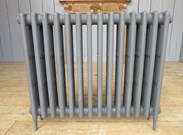 Carron Victorian 4 Column Cast Iron Radiator - 14 Sections Long - 760mm Tall x 140mm Deep