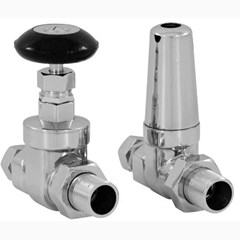 Carron Whitworth Chrome Manual Valves