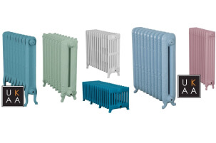 View and Buy Cast Iron Radiators, Old Style Radiators, Victorian Cast Iron Radiators and Old Fashioned Style Rads Built To Your Bespoke Sizes and Finishes at UKAA