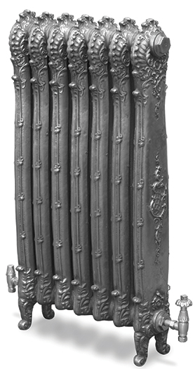 Antoinette 985mm Tall Cast Iron Radiator