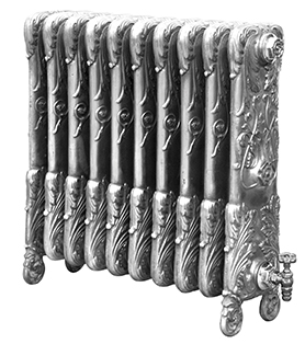 Chelsea 675mm Tall Cast Iron Radiator