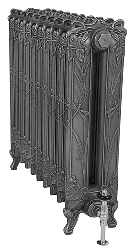 Dragonfly 790mm Tall Cast Iron Radiator