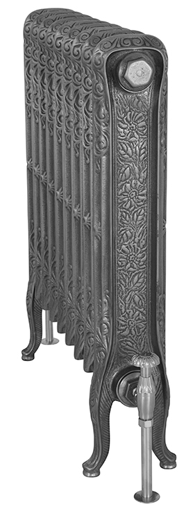 John King 780mm Tall Cast Iron Radiator
