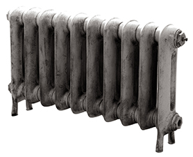 Princess 460mm Tall Cast Iron Radiator