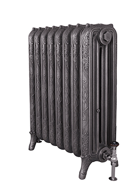 Ribbon 810mm Tall Cast Iron Radiator