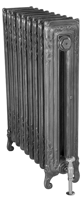 Scroll 845mm Tall Cast Iron Radiator