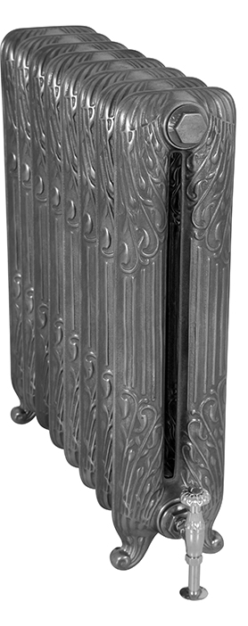 Sleeping Swan 775mm Tall Cast Iron Radiator