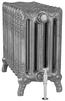 Turin 600mm Tall Cast Iron Radiator