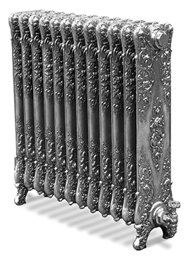 Verona 650mm Tall Cast Iron Radiator