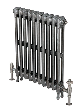 Victorian 615mm Tall Cast Iron Radiator