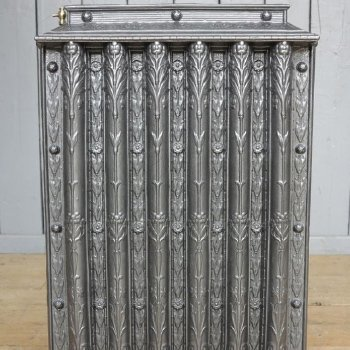Reclaimed and salvaged Victorian school cast iron radiators