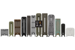 Buy Traditional Cast Iron Radiators, Vintage Style Radiators, Ornate Cast Iron Radiators & Decorative Metal Radiators Made to Your Bespoke Sizes at UKAA
