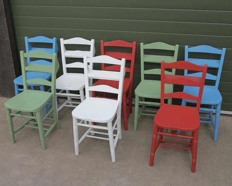 Church and Chapel Chair Hand Painting Service