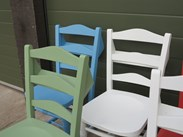 Church and Chapel Chairs Hand Painted