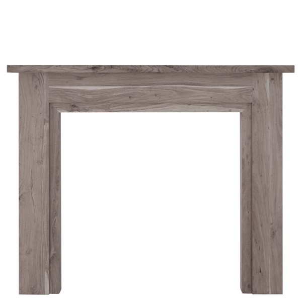 Colorado Weathered Acacia Wooden Fire Surround