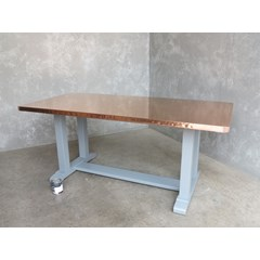 Copper Top Refectory Style Table