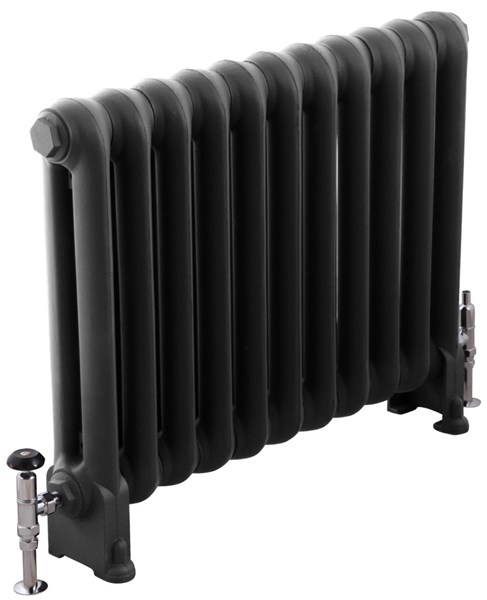 Cromwell 780mm Tall Carron Cast Iron Radiator 11 Sections Long