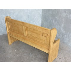 Custom Made Traditional Church Pew