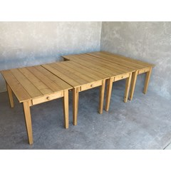 Custom Made Wooden Tables With Drawer s