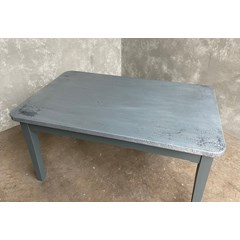 Distressed Zinc Finish 40mm Thick Table