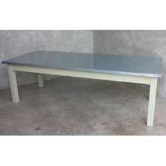 Distressed Zinc Table