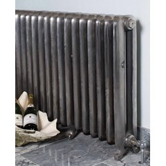 Duchess Tall Radiator In Hand Burnished