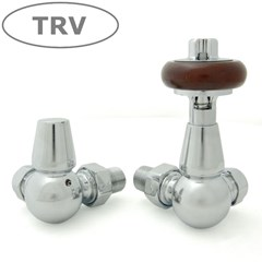 Faringdon Chrome Thermostatic Valves