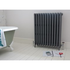 Foundry Grey Finish 6 Column Radiator