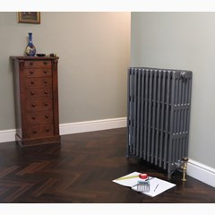 Foundry Grey Finish Cast Iron Radiator Made By Carron