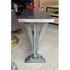 Gothic Dining Table With Zinc Top