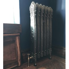 Hand Burnished Antoinette Cast Iron Radiator