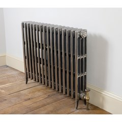 Hand Burnished Finish Victorian Radiator