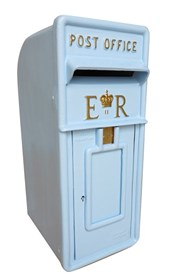 Hand Painted Post Box in Johnstones Porcelain