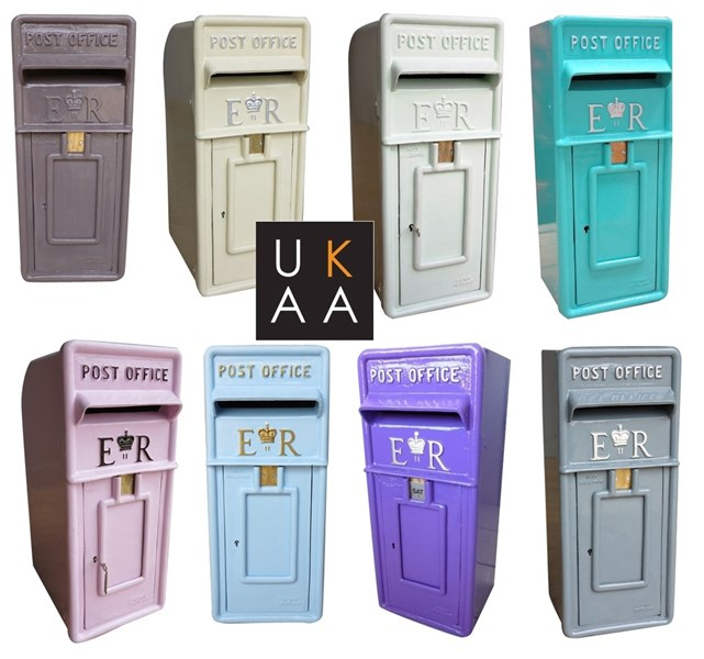 Hand Painted Post Boxes