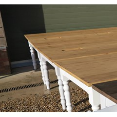 Handmade Plank Top Meeting Room Tables