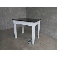 Handmade Zinc Table With Rounded Corners