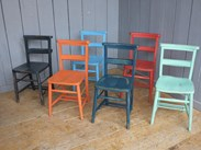 Here at UKAA we can hand paint our Church Chairs to your colour(s)