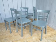 Here at UKAA we paint our Church Chairs In Your Bespoke Colour(s)