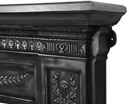 Highlight Polish Cast Iron Surround For Sale