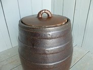 Image 1 - Large Saltglazed Barrel