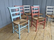 Image 2 - Mixture of Farrow & Ball Solid Finish Painted Chairs