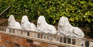Image 2 - Plaster Models of Recumbent Lions