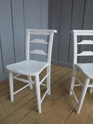 Image 2 - Solid Finish Painted Chairs
