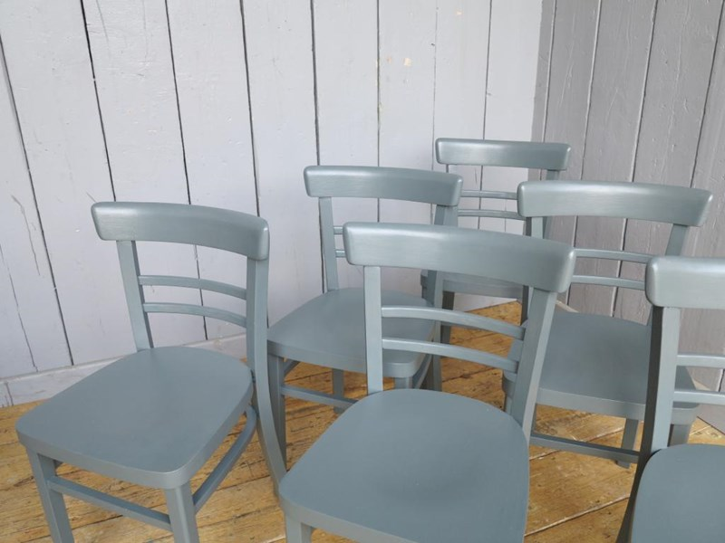 Solid Finish Painted Chairs In Farrow Ball Paint