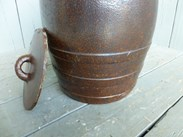 Image 3 - Large Saltglazed Barrel