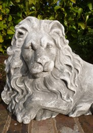 Image 3 - Plaster Models of Recumbent Lions
